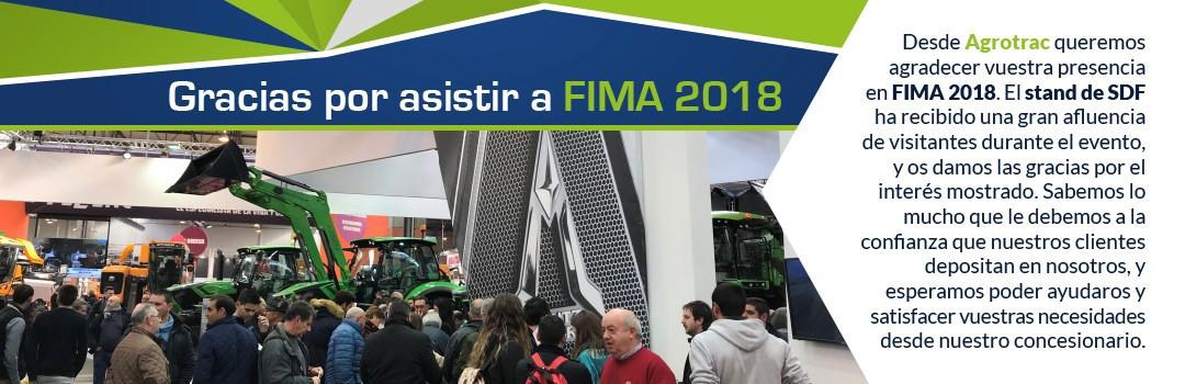 Gracias por asistir a FIMA 2018