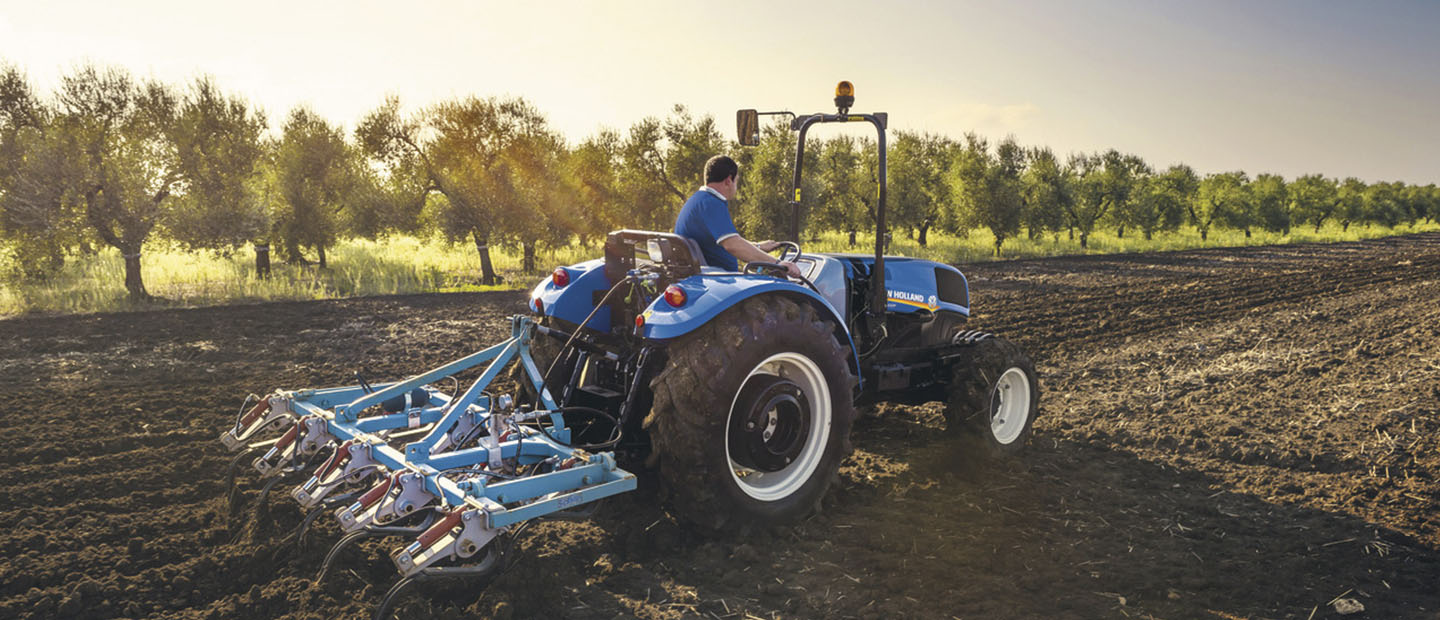 Tractor New Holland TD4