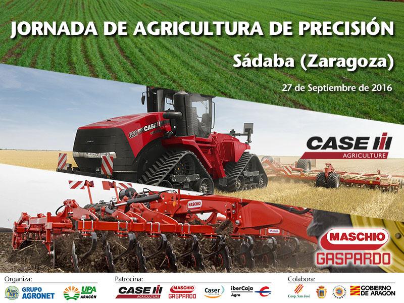 Jornada de Agricultura de Precisión para Cereal - Sádaba (Zaragoza)