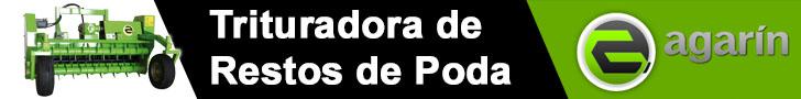 TRITURADORA DE RESTOS DE PODA