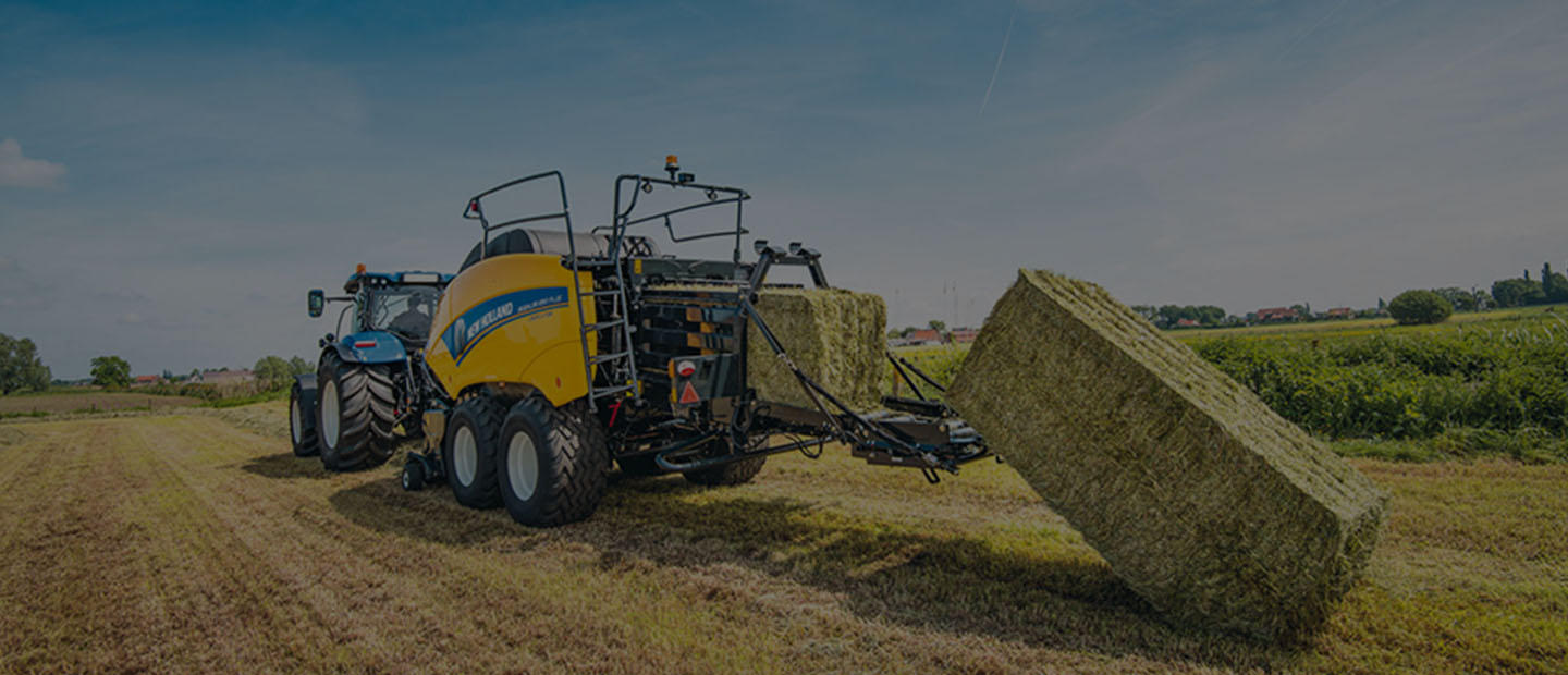Nueva Empacadora New Holland BIGBALER