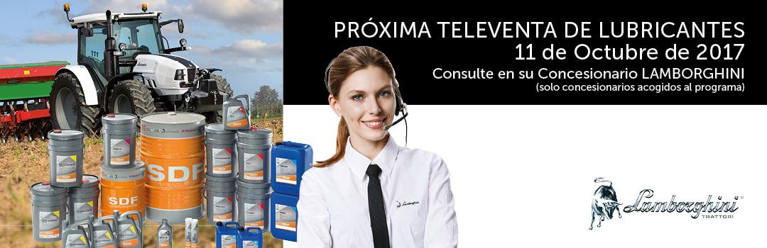 Próxima Televenta de Lubricantes