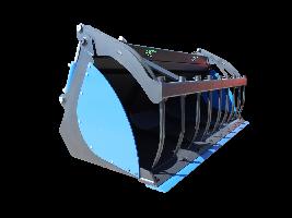 Cazo cerrado con zarpa hidráulica tapas atornilladas Implementos TJL