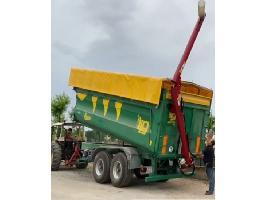 Sinfin para remolque 5,4m largo y 40-60 ton/hora POM Augustow