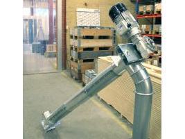 Transportador sinfin Para pienso y granulados BM Silofabrik