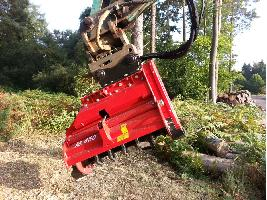 Trituradora Forestal M450e-900 Ahwi