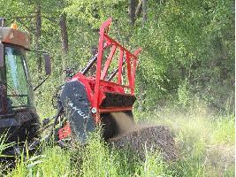 Trituradora Forestal M450h-2700 Ahwi