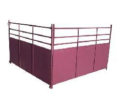 Cancilla para ovejas de tubo con chapa Carpintería ganadera EL CANO S.L