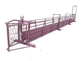 Manga de oveja con chapa regulable Carpintería ganadera EL CANO S.L