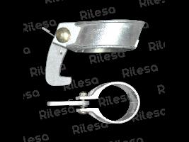 Abrazadera aluminio 50 equipada Riegos Lebrija