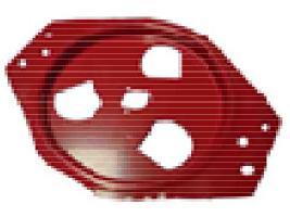 Tapa distribuidor tipo U BMC