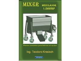 Mixer 1.5m3 Planos completos para fabricar el equipo. Guibor