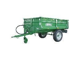 Remolques de tractor (basculante y freno hidráulico) Hibema