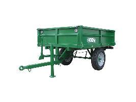 Remolques de tractor (basculante y freno mecánico) Hibema