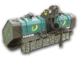 Trituradora forestal TEKKEN Picursa