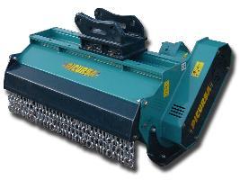Trituradora de brazo TM-MIXTA Picursa