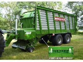 > CAREX 39 K - 70,2 m³ - Pick-up 1,94 m. - eje tandem 24 Tons. - freno hidráulico Bergmann