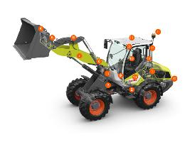 TORION 639 / 535. Claas