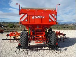 Sembradoras de siembra directa de reja neumáticas Larrosa