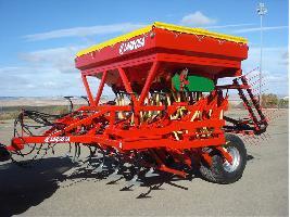 Sembradoras plegables mecánicas para cereales Larrosa
