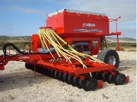 Sembradoras neumáticas de siembra directa con discos para cereales Larrosa