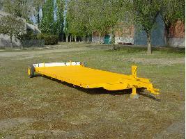 Remolque plataforma para coche Tabares