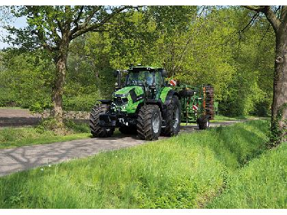 """Tractores agrícolas Deutz-Fahr NUEVA Serie 7 TTV"""""""