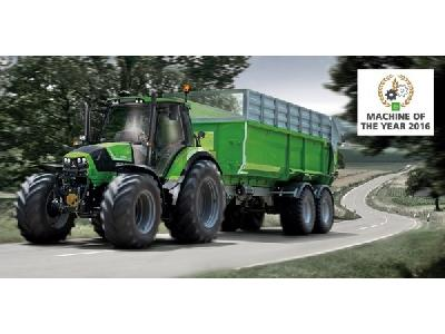 0 - LE CSHIFT DE LA SÉRIE 6 DEUTZ-FAHR A ÉTÉ ÉLU  -  MACHINE OF THE YEAR 2016 -