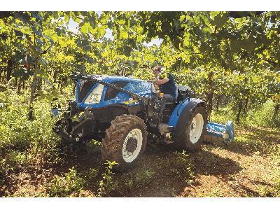 New Holland actualiza y amplía su oferta líder en el sector de tractores Especiales - 1