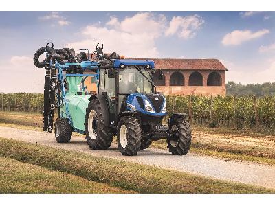 New Holland actualiza y amplía su oferta líder en el sector de tractores Especiales - 3