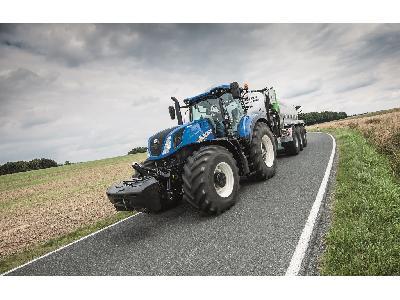 El sistema de freno inteligente de remolque de New Holland ofrece la mejor seguridad y estabilidad de su clase en los tractores T7 y T6 AutoCommand - 2