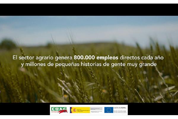 Campaña del propio sector para informar y sensibilizar sobre las buenas prácticas laborales en el sector agrario