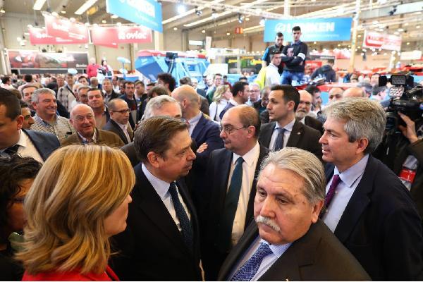 El ministro Planas anuncia que incrementará la dotación del Plan Renove de maquinaria agrícola para situarla por encima de los 8 millones de euros