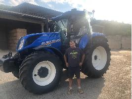 ENTREGA DE UN NEW HOLLAND T7.225 AC