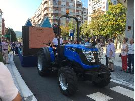 Los tractores SOLIS Y KIOTI CELEBRAN LA EUSKAL JIRA 2019 EN IRÚN (Guipuzcoa)