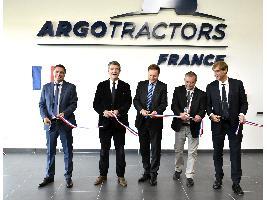 Inaugurado en Vaulx-Milieu, el nuevo edificio de la sucursal francesa de Argo Tractors