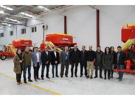 Larrosa Arnal, maquinaria agrícola de última generación fabricada en el Campo de Belchite desde hace casi 90 años