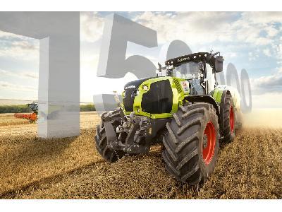 Más de 150.000 tractores CLAAS fabricados en 15 años - 0
