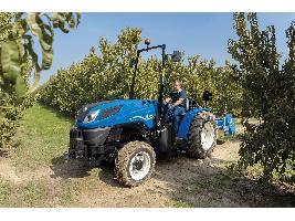 New Holland presenta la nueva generación de tractores especiales T4 F/N/V y amplía la gama T3 con un modelo de perfil bajo