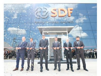 SDF inaugura nuevas líneas de producción en su fábrica de Turquía - 1