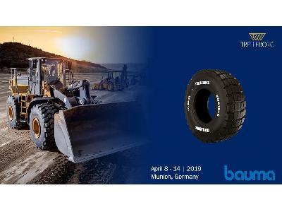 Trelleborg presentó sus últimas soluciones y sistemas para neumáticos más innovadores en BAUMA 2019 - 0