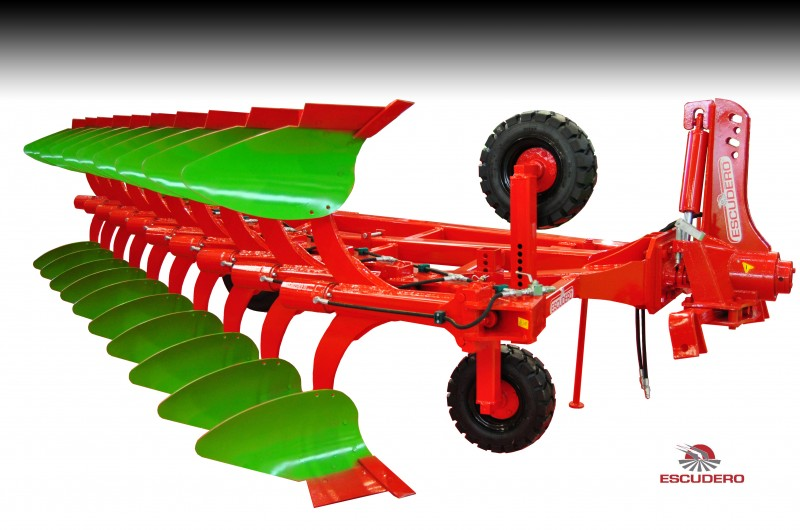 Arado reversible Ecologic Modelo CHRH