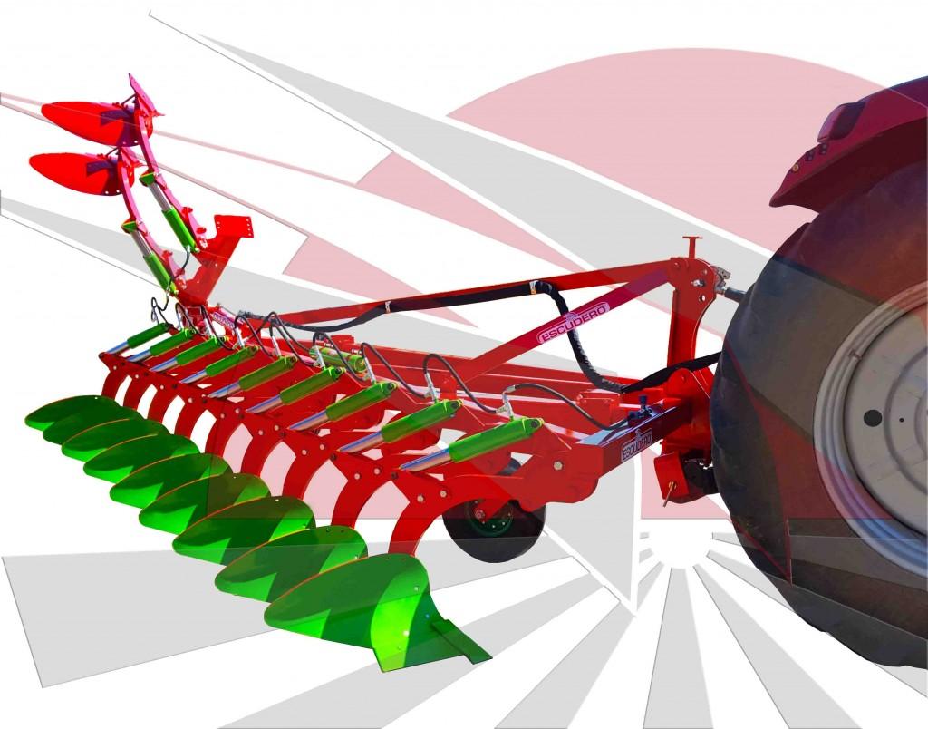 Arado fijo Ecologic Modelo CHFH