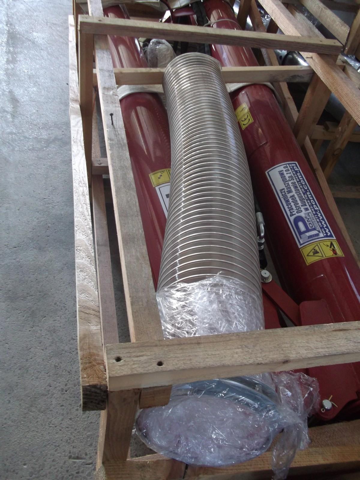POM Augustow Sinfin para remolque 5,4m largo y 40-60 ton/hora - 5