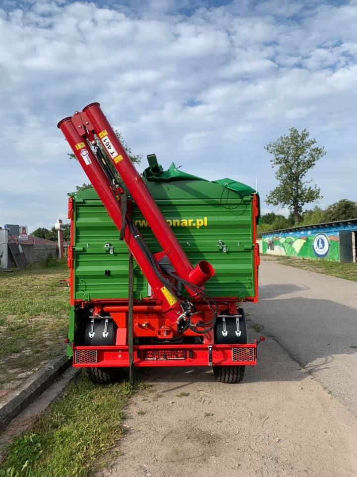 POM Augustow Sinfin para remolque 5,4m largo y 40-60 ton/hora - 4