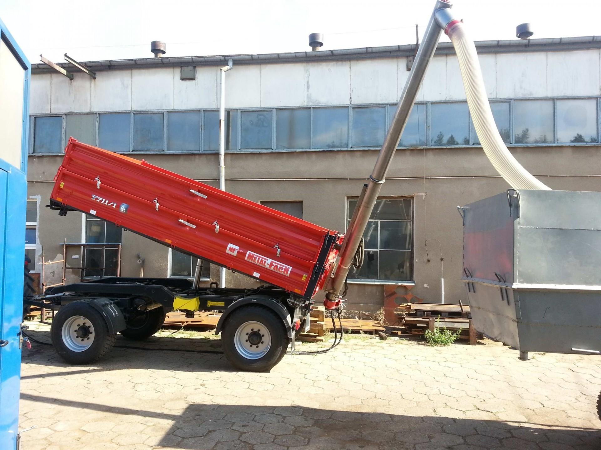 POM Augustow Sinfin para remolque 5,4m largo y 40-60 ton/hora - 6