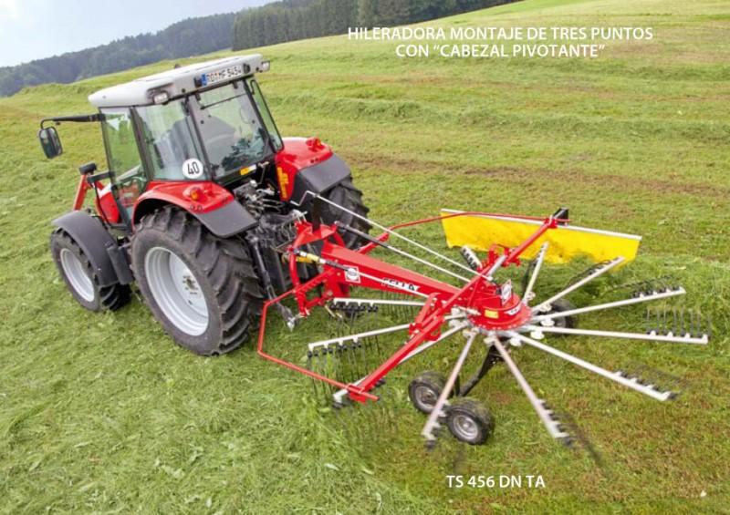 > TS 456 DN TA - 1 rotor / eje tándem