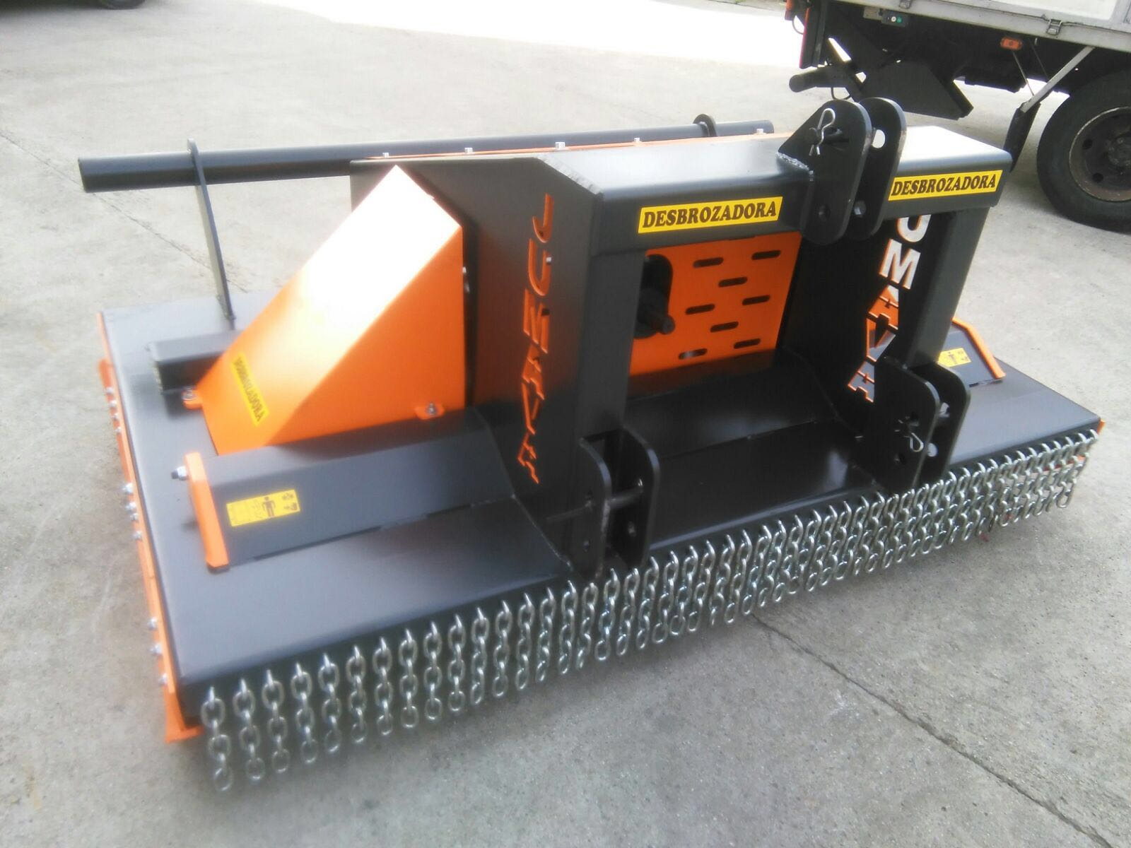 Desbrozadora doble rotor VRD - 5