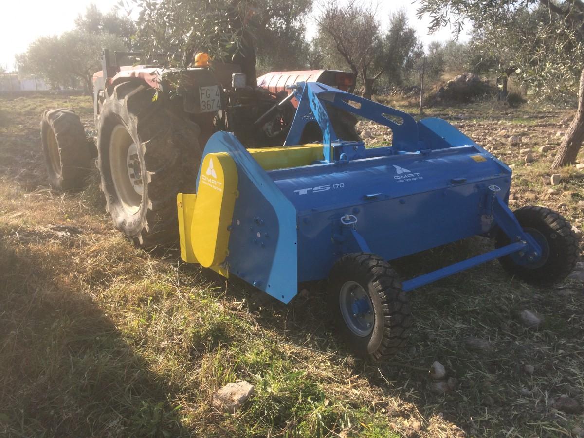 OMAT Trituradora de restos de poda y sarmientos OMAT TS - 7