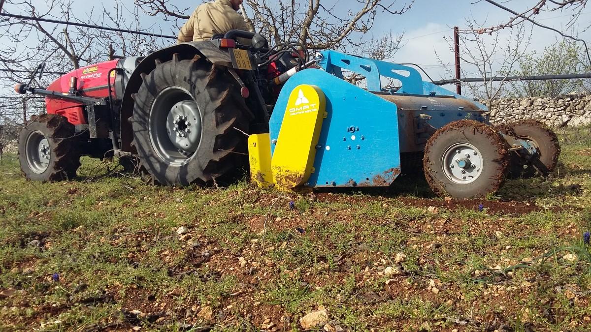 OMAT Trituradora de restos de poda y sarmientos OMAT TS - 4